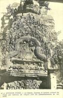 Cambodge. Angkor Thom. Le Bayon, Linteau Et Tympan Entouré Du Naga. - Cambodia
