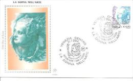 82413 ) FDC  Donne Nell'arte - Serie Ordinaria - 31 Luglio 2004 - 1946-.. République