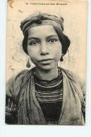 Fillette KABYLE Des Beni Menguelet. 2 Scans. Collection Idéale PS - Algérie