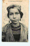 Fillette KABYLE Des Beni Menguelet. 2 Scans. Collection Idéale PS - Femmes