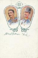 GUERRE 1914-18 -  AUTRICHE - ÖSTERREICH - Portrait Militaires 1914-15 - Vendue Au Profit De La CROIX ROUGE - Weltkrieg 1914-18