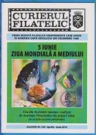 Courier Philatelic Magazine, 44 Pages ROMANIA  NR 165 / 2012 - Libros, Revistas, Cómics