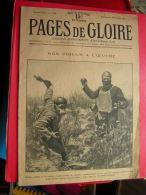 RARE REVUE  MILITARIA    PAGES DE GLOIRE   NOS POILUS A L´ OEUVRE      PREMIERE ANNEE N° 34  25 JUILLET 1915 - Livres, BD, Revues