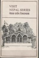 NEPAL - 1981 TOURISM FIRST DAY FOLDER   SG 418-20  Sc 392-4 - Nepal