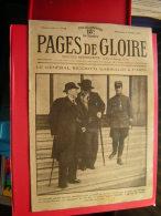 RARE REVUE  MILITARIA   PAGES DE GLOIRE  LE GENERAL RICCIOTTI GARIBALDI A PARIS   PREMIERE ANNEE N° 12   21 FEVRIER 1915 - 1900 - 1949