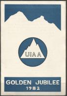 NEPAL - 1982 IALPINE ASSOCIATION FIRST DAY FOLDER   SG 424-6 - Nepal