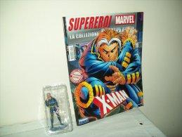"""La Collezione Inedita """"Supereroi Marvel"""" (Fabri Editori 2012)  N. 19   """"X-Man"""" - Super Eroi"""