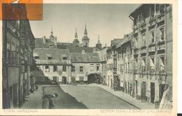 STARA WARSZAWA    SZEROKI DUNAJ Z DOMEN J. KILINSKIEGO , Pli En Bas à Droite ( Voir Scan ) - Pologne