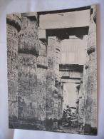 Vecchia Stampa-foto-karnak-colonne. - Foto
