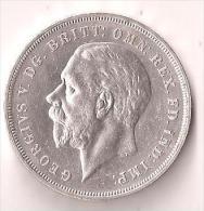 1 CROWN SILVER GEORGE V 1935 - 1902-1971 : Monnaies Post-Victoriennes
