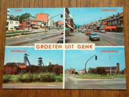 Groeten Uit GENK Waterschei / Winterslag / Hoevezavel / Anno 19?? ( Zie Foto Voor Details ) !! - Genk