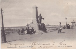 Blankenberghe,  - Monument De Bruyn. - Blankenberge