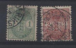 0232 - Antilles Danoises N° 16/17 Ob. - Danemark (Antilles)