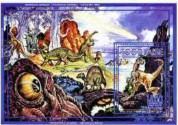 TOGO Animaux Prehistoriques. (bloc Emis En 1996)  **Faune Préhistorique Prehistoric Animals - Prehistorics