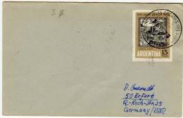 ARGENTINA  1967  ANTARCTICA   Special Cancell. ; Used Cover - Antarctic Wildlife