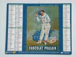 Calendrier ALMANACH DU FACTEUR PTT - 2013 - Chocolat Poulain - LAVIGNE - Aisne 02 - Neuf - Calendarios