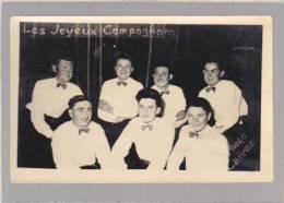 Spectacle - Photo Caivea - Les Joyeux Compagnons - Dedicaces Au Verso - Fotos
