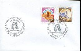 Italia, Special Postmark 2001 Gorgonzola   Centenario Giuseppe Verdi Giuseppina Strepponi - Musique