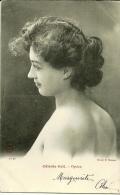 Belle Photo Buste De Femme : Céleste Gril - Opéra - Cliché H. Manuel 1ère Sie - Artistes