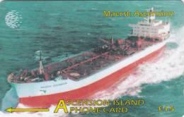 ASCENSION ISL.(GPT) - Maersk Ascension, CN : 268CASB, Tirage 5000, Used - Ascension
