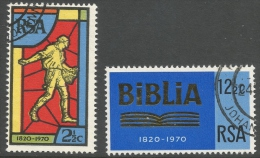 South Africa. 1970 150th Anniv Of Bible Society Of South Africa. Used Complete Set - South Africa (1961-...)