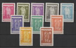 Panama (1964) Yv. 279/88  /  Scouts - Scouting - Scout Jamboree - Padvinderij