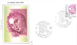 82480 )   FDC Donne Nell'arte - Serie Ordinaria - 27 Gennaio 2004 - 1946-.. République