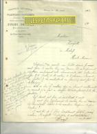 10 - Aube - PLANTY - Facture SAVARY - Scierie – 1912 - 1900 – 1949