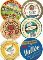 étiquette De Fromage:  Lot  De 6  étiquettes  Différentes   Du  5  Aout  2013  :  G - Cheese
