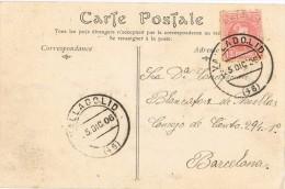 4251. Postal VALLADOLID 1906. Alfonso XIII Cadete - 1889-1931 Reino: Alfonso XIII