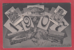 GRENOBLE --> 1907. Multivues - Grenoble