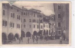CARD GORIZIA PIAZZA DUOMO MOLTO ANIMATA  COME  DA SCANNER   -FP-V-2-0882-16818 - Gorizia