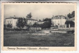 TONNAY BOUTONNE 17 - Les Rives De La Boutonne - CPA CPSM Dentelée GF N° 4116 - Charente Maritime - Francia