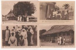 LOT 7 CPA - CONGO BELGE - Mission Des Dominicaines-Missionnaires De Fichermont à Niangara Haut-Uélé - Congo Belge - Autres