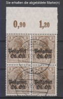 Ober-Ost,2b,OR ViererBlock P,o,gep.  (3570) - Besetzungen 1914-18