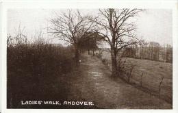 Hampshire Postcard - Ladies' Walk, Andover, Hampshire  AA539 - England