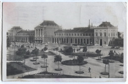 Croatia - ZAGREB, Railway Station, Bahnhof, 1931. - Kroatië