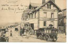 ROUTE DE TROUVILLE 1900s  TBE  OHL - Villers Sur Mer