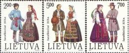 Lietuva Litauen 1992 MNH ** Mi. Nr. 508-510