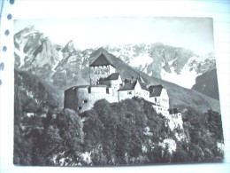 Liechtenstein Vaduz Nice Card With Panorama Schloss - Liechtenstein