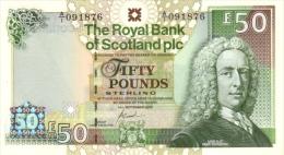SCOTLAND 50 POUNDS P 367 UNC - 50 Pounds