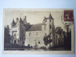 Château De  Trécesson  (Environs De Ploermel  -  Morbihan) - Ploërmel