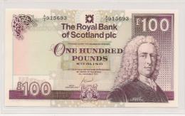 SCOTLAND 100 POUNDS 2007  PICK 350 UNC - 100 Pounds