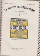 La Petite Illustration N°587 30 Juillet   1932IL ETAIT UNE FOIS F DE CROISSET - Theatre