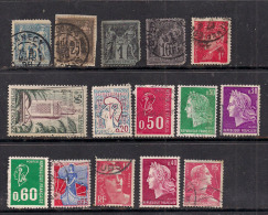 France Selection 15 X Stamps.. ( L848 ) - France