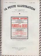 La Petite Illustration N°580 11 Juin 1932 LE PLANCHER ES VACHES JEAN SARMENT - Theatre