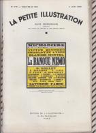 La Petite Illustration N°579  4 Juin 1932 LA BANQUE NEMO LOUIS VERNEUIL - Theatre