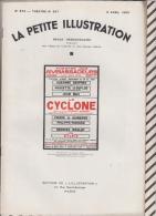 La Petite Illustration N°572  9 Avril  1932 LE CYCLONE SOMERSET MAUGHAM - Theatre