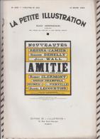 La Petite Illustration N°568  12 Mars  1932 AMITIE MICHEL MOURGUET - Theatre