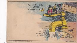 AS: We're On Our Honey (Moon) Niagara Falls (Bugville), Water Fountain, Paul Bransom, 10-20s - Illustratori & Fotografie